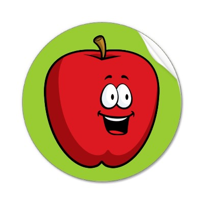 Cartoon Apple Clipart Picture | Royalty Free Apple Clip Art Licensing.